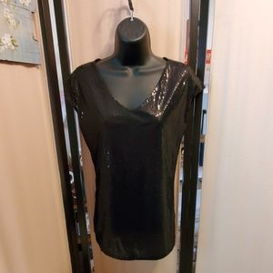 The Limited sequined tank top
